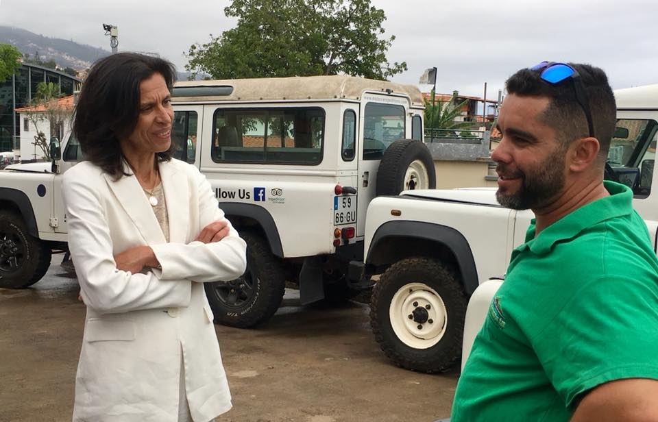 Regional Secretary for Tourism and Culture, Paula Cabaço, visited Mountain Expedition